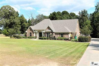 West Monroe Single Family Home For Sale: 675 Caldwell Road