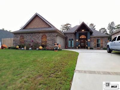 West Monroe Single Family Home For Sale: 123 Temecula Drive
