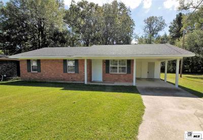 Monroe Single Family Home For Sale: 107 Dera Mae Drive