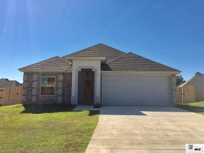 West Monroe Single Family Home Active-Price Change: 107 Canvasback Cove