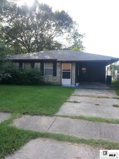 Monroe Single Family Home For Sale: 103 Mays Drive