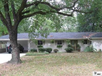 Monroe Single Family Home For Sale: 2105 Cottonwood Drive