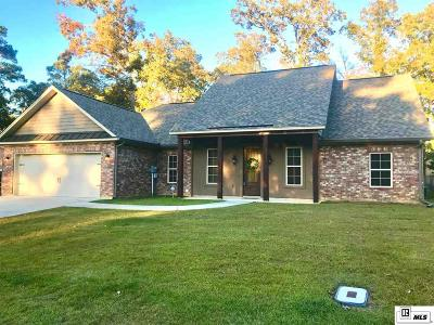 West Monroe Single Family Home For Sale: 124 Kenny Lane