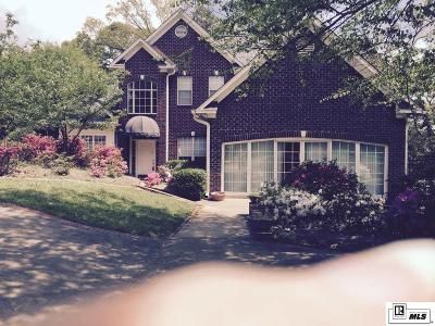 West Monroe Single Family Home For Sale: 201 Comanche Trail