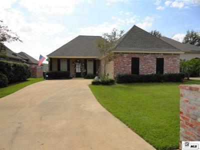 Monroe Single Family Home For Sale: 4206 Ava Lane