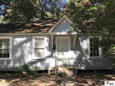 Monroe Single Family Home For Sale: 3805 Blanks Street