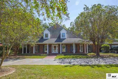 Monroe Single Family Home For Sale: 3202 Lake Desiard Drive