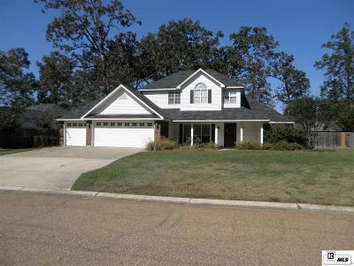 Single Family Home For Sale: 111 Landreaux Drive