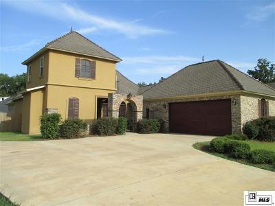 Monroe LA Single Family Home For Sale: $340,000