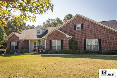 Ruston Single Family Home New Listing: 179 Creeks Crossing