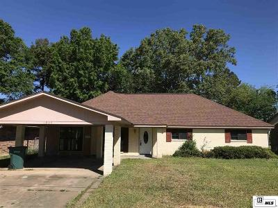 Monroe Single Family Home New Listing: 1905 Crescent Drive