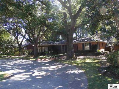 Monroe Single Family Home For Sale: 1012 Civic Street