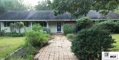 West Monroe Single Family Home New Listing: 189 Rose Villa Lane