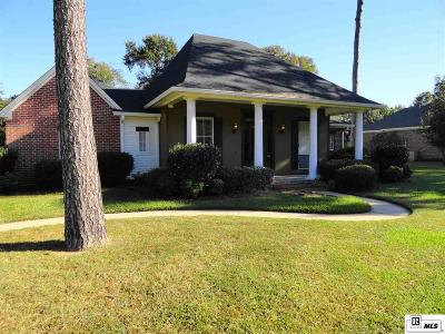 Monroe Single Family Home For Sale: 1562 Frenchmans Bend Road