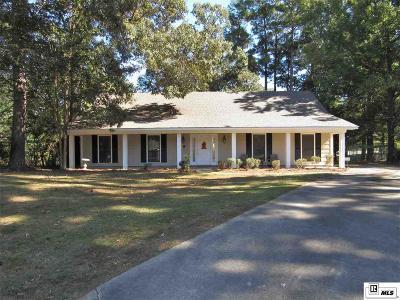 West Monroe Single Family Home New Listing: 105 Arapaho Circle