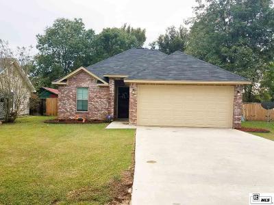Monroe LA Single Family Home For Sale: $159,500
