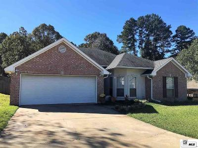 West Monroe LA Single Family Home For Sale: $245,000