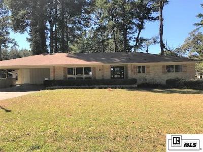 West Monroe LA Single Family Home For Sale: $199,000