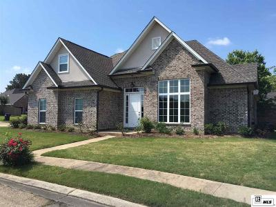 West Monroe Single Family Home For Sale: 106 Iberia Circle