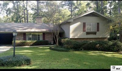 Ruston Single Family Home For Sale: 2804 Lakeview Drive