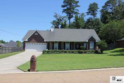 West Monroe LA Single Family Home For Sale: $289,900