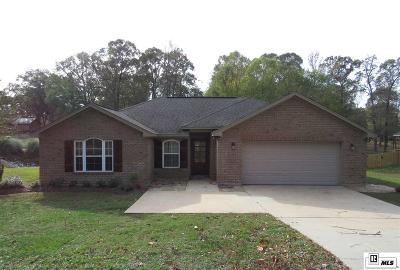 Calhoun LA Single Family Home For Sale: $219,000