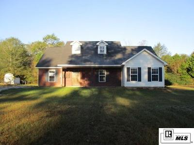 Lincoln Parish Single Family Home Active-Pending: 3008 Highway 563