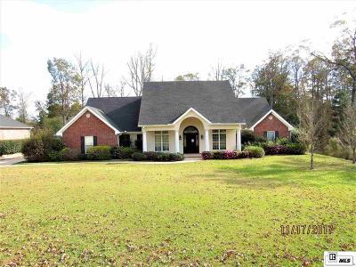 Calhoun LA Single Family Home For Sale: $372,000