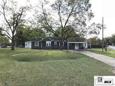 West Monroe LA Single Family Home For Sale: $125,000