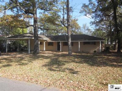 West Monroe LA Single Family Home For Sale: $95,000