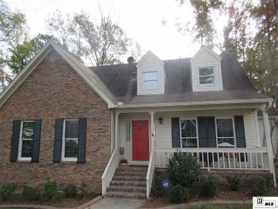 West Monroe LA Single Family Home For Sale: $265,000