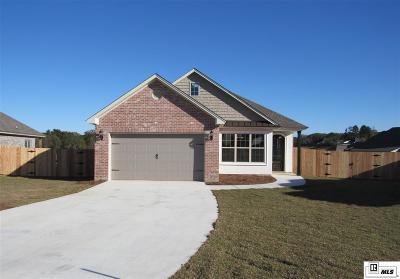West Monroe LA Single Family Home For Sale: $249,900