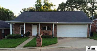 West Monroe LA Single Family Home For Sale: $171,000