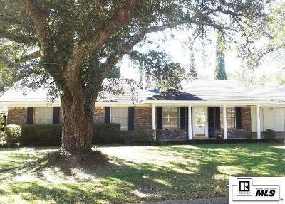 Monroe LA Single Family Home For Sale: $187,500