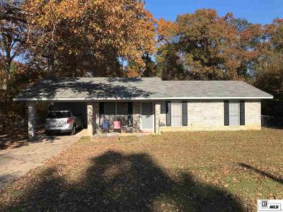 West Monroe LA Single Family Home For Sale: $134,750