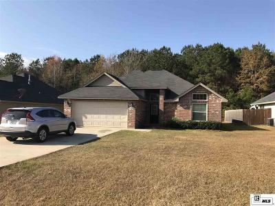 Lincoln Parish Single Family Home For Sale: 140 Rose Garden Drive
