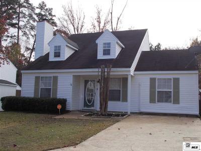 West Monroe LA Single Family Home For Sale: $167,000