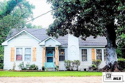 West Monroe LA Single Family Home For Sale: $134,500