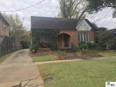Monroe LA Single Family Home Active-Pending: $157,500