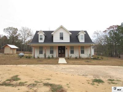 Calhoun LA Single Family Home For Sale: $319,000