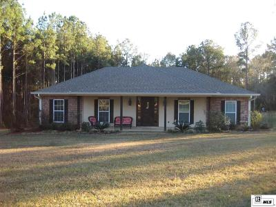 West Monroe Single Family Home For Sale: 144 Chatham Lane
