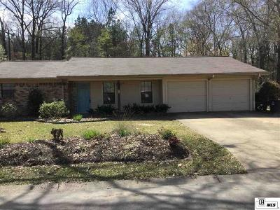 Lincoln Parish Single Family Home Active-Pending: 1025 Pennington Lane