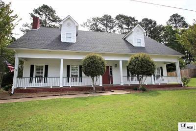 Calhoun LA Single Family Home For Sale: $269,900