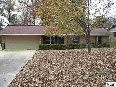 West Monroe LA Single Family Home For Sale: $165,000