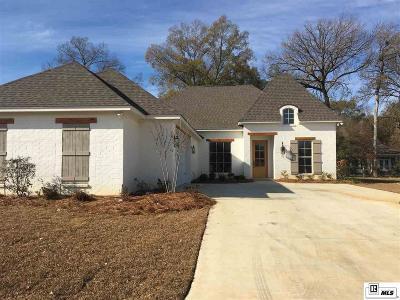 Monroe Single Family Home For Sale: 4001 Anna Kate Lane