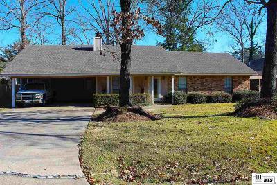 West Monroe LA Single Family Home For Sale: $169,000