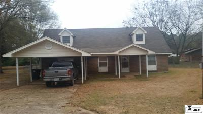 Ruston Single Family Home For Sale: 1707 Greer Street