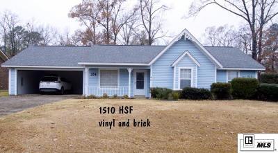 West Monroe LA Single Family Home For Sale: $169,900