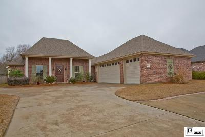 Monroe Single Family Home For Sale: 433 East Frenchman's Bend Road
