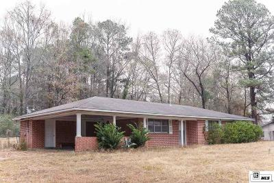 Lincoln Parish Single Family Home Active-Pending: 2224 Highway 80